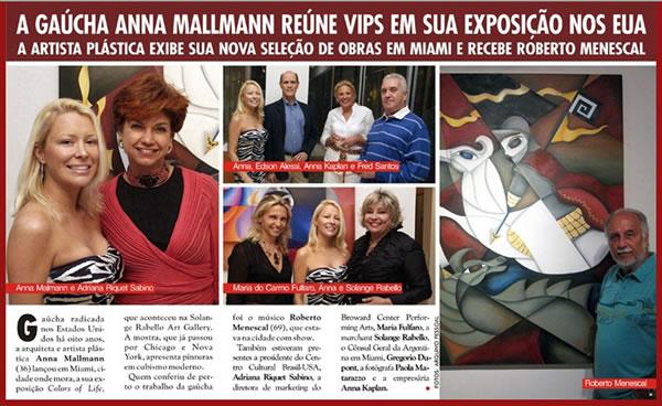 Anna Mallamnn Caras Brazilian Magazine
