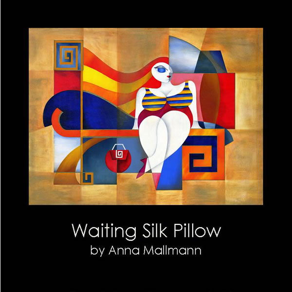 Anna Mallmann Design Waiting Silk Pillow
