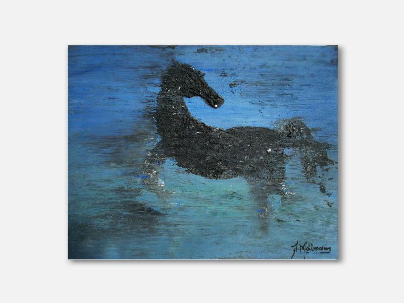 Horse Architect Design Anna Mallmann Art Paint Painter EUA Art Artistic Artist Mosaico Cubismo Abstract Macys New York