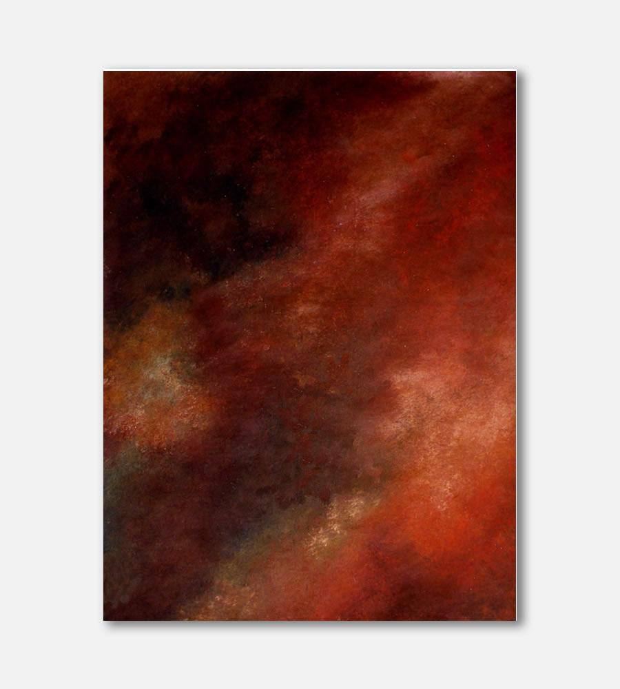 November I  Mix Media 36x 48 90 x 120 cm Anna Mallmann Artist